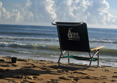 Ships Watch Beach Chair on OBX Beach