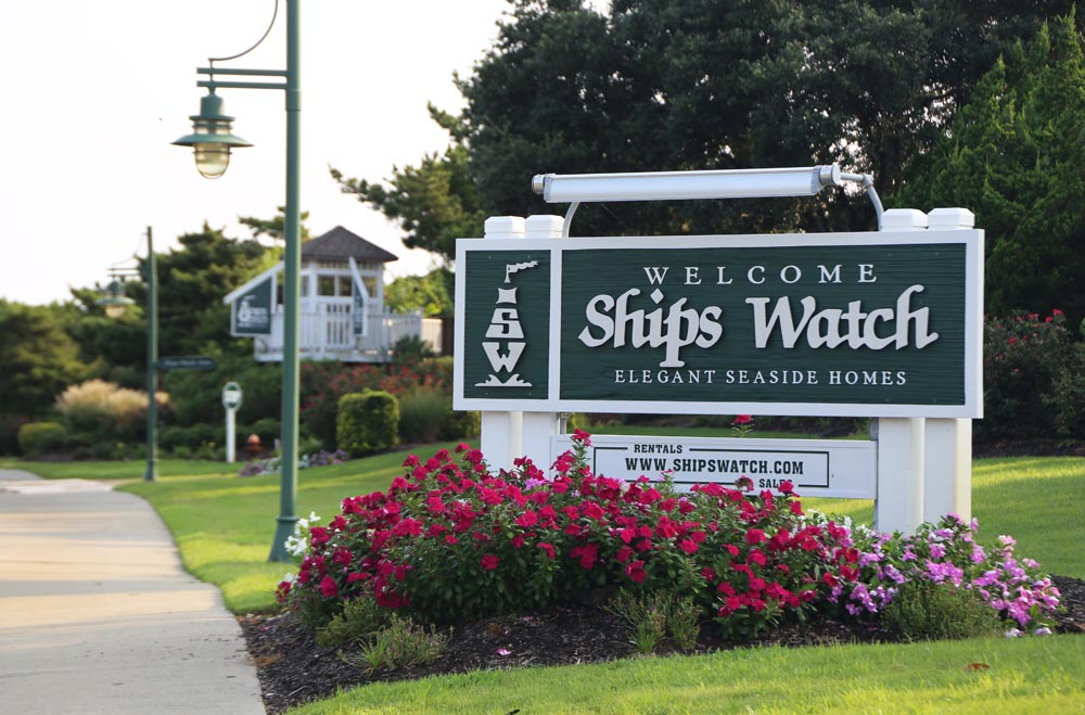 Ships Watch - sign portrait